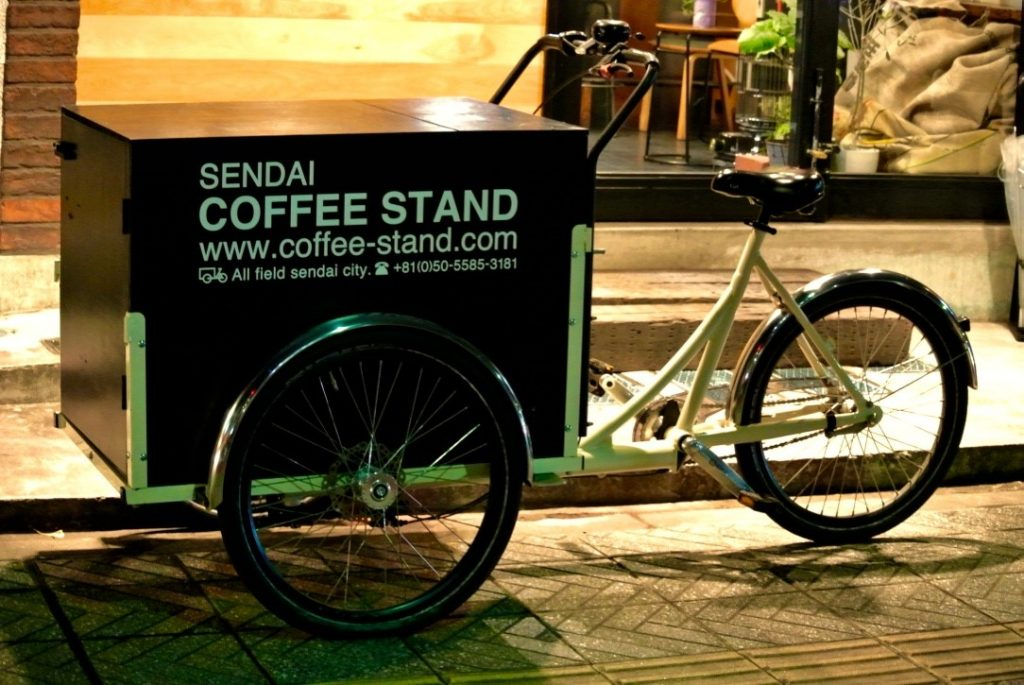 A dream come true cafe -SENDAI COFFEE STAND-