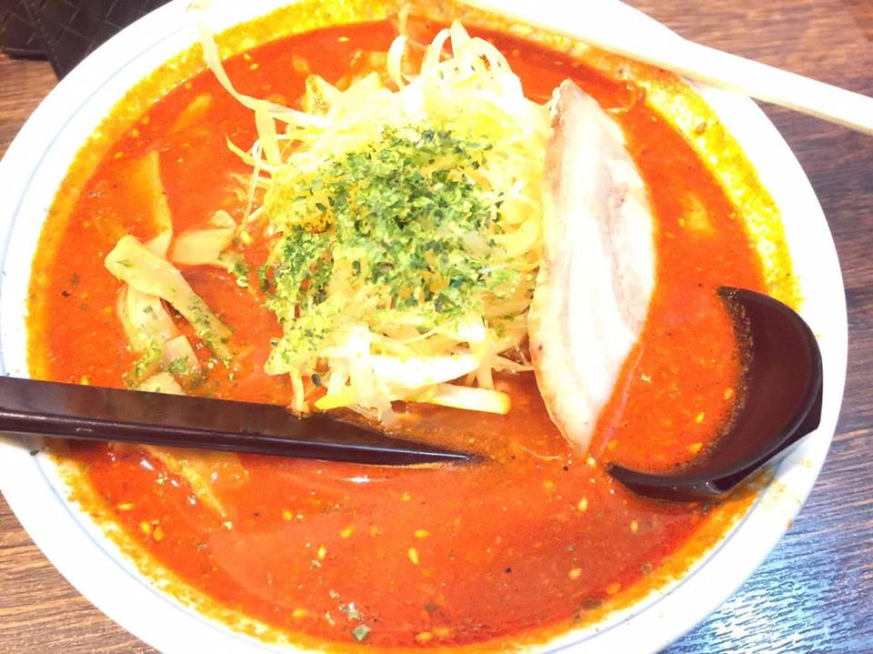 "Eating the ""Spiciest"" Ramen in Sendai!!"