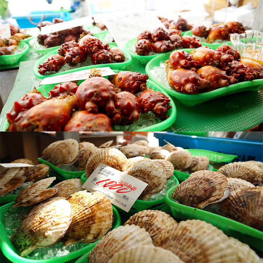 Sunday Splurging at Yuriage-Morning Market