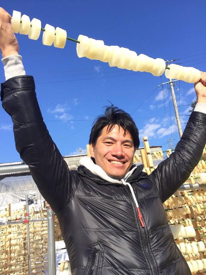 """Experiencing the special radish """"Heso radish"""" producing in Marumori, Miyagi"""