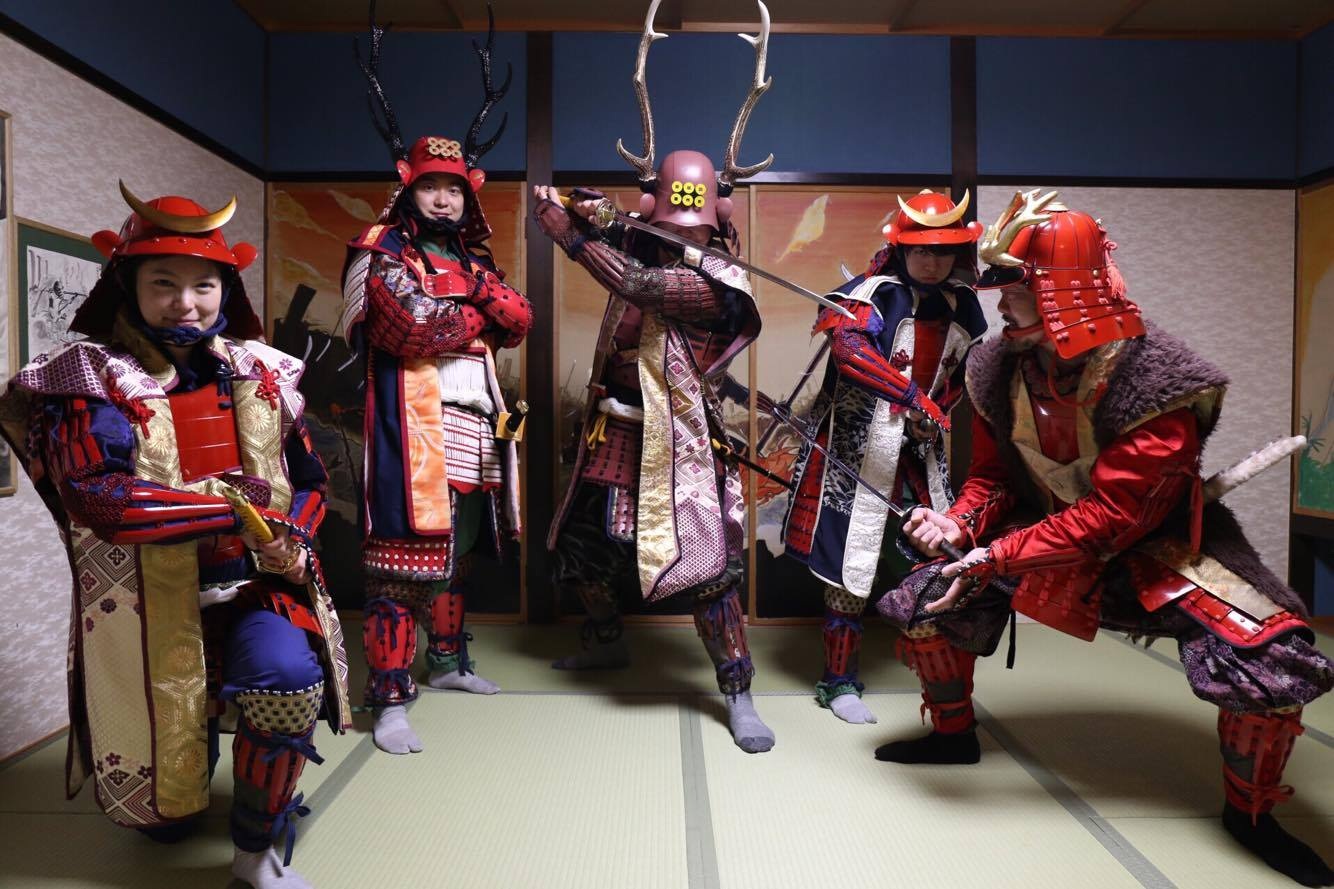 Be a Samurai at Ryokan-Genbei!