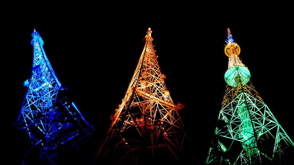 让仙台夜空增色的3支彩烛