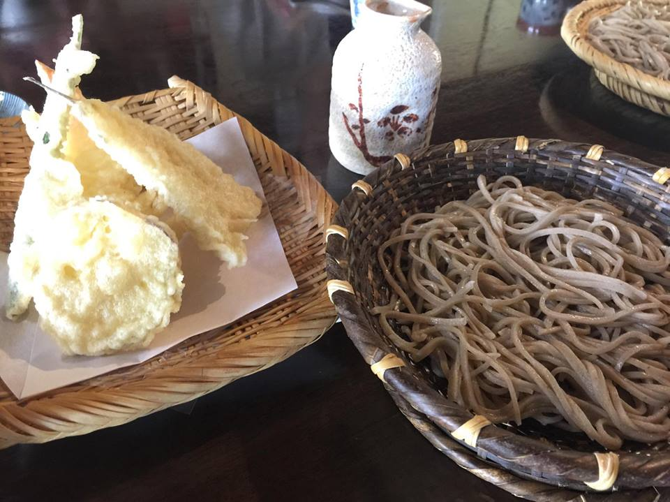 The shop where you can eat soba flour buckwheat soba