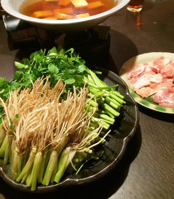 Perfect for winter! Miyagi specialty hotpot!