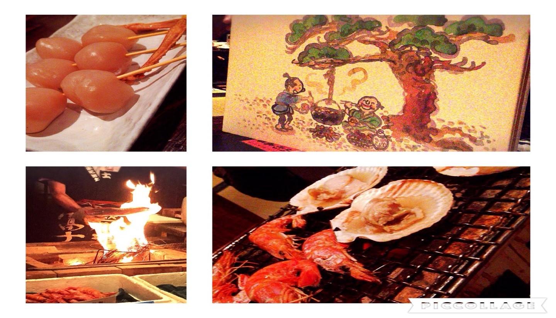 可以吃到美味的山形风山芋锅的捕鱼师小屋「纲本」山形番屋