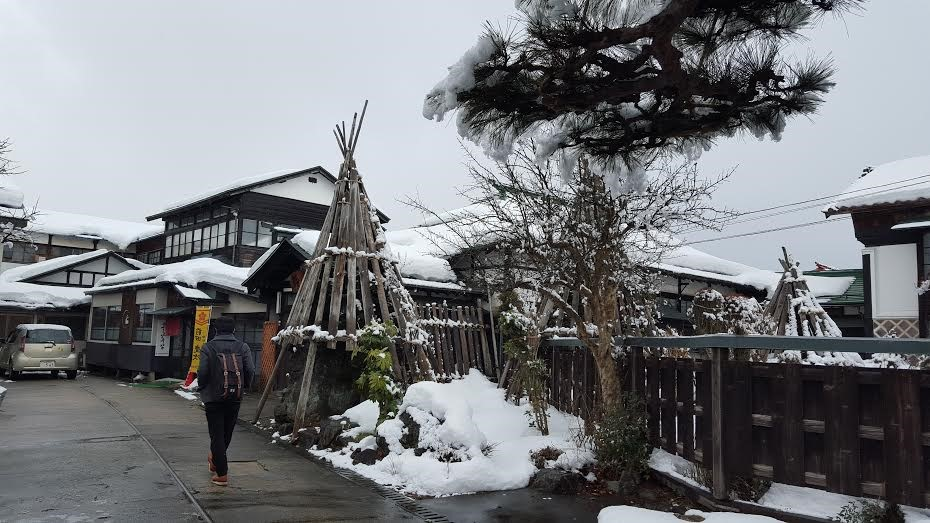 山形県米沢市でタイムスリップ