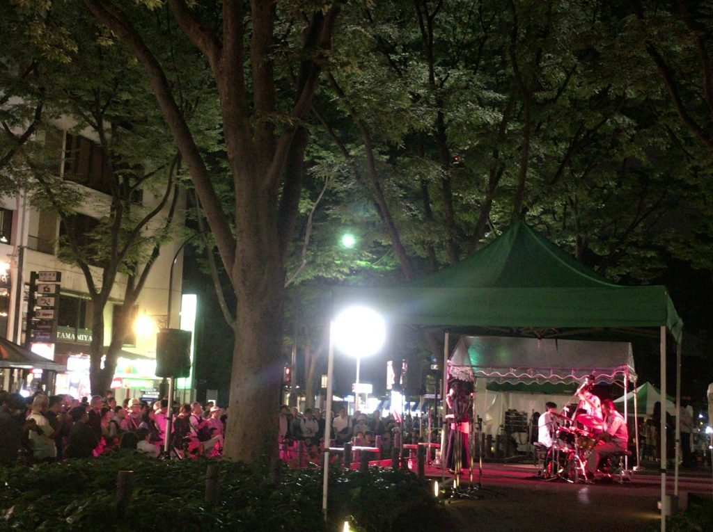 Turning Sendai into a Stage: Jozenji Street Jazz Festival