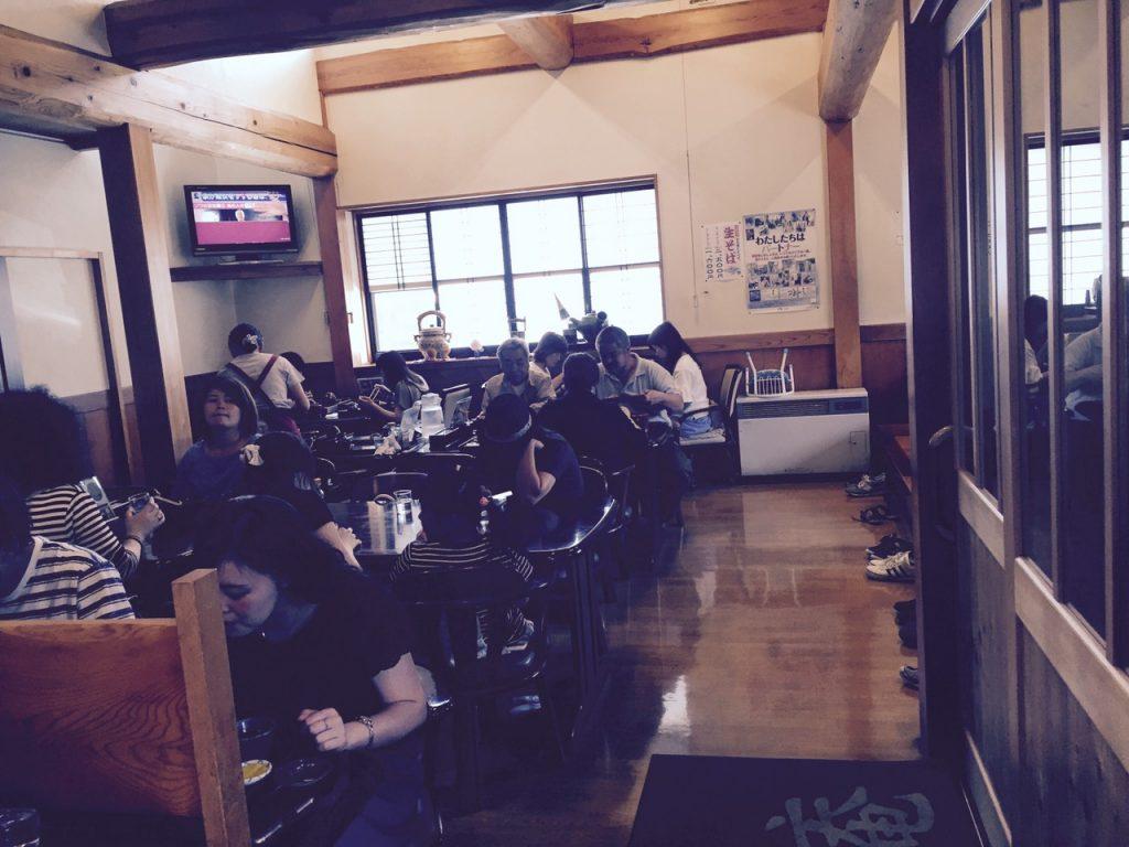 "Tohoku's Populer Soba Restaurant ""Ichian"""