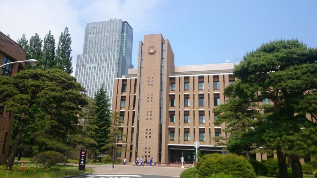 For foreign students, Tohoku University is very popular.