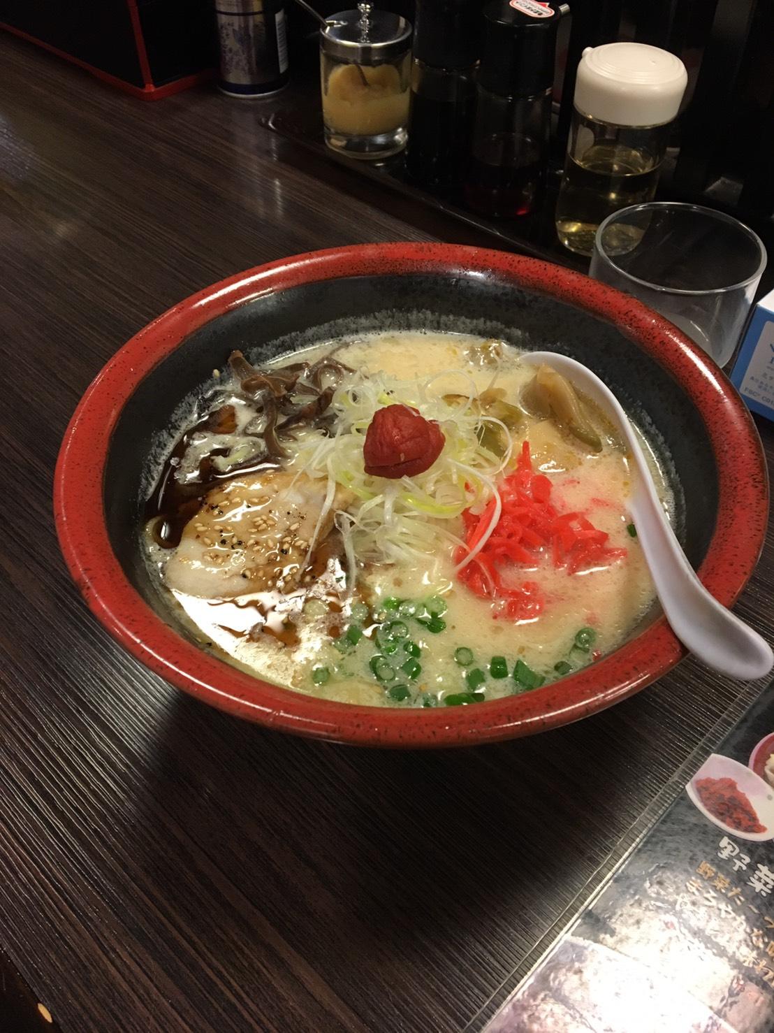 """拉面店""""麺屋ぐらんふぁ""""—山形拉面之行 3"""