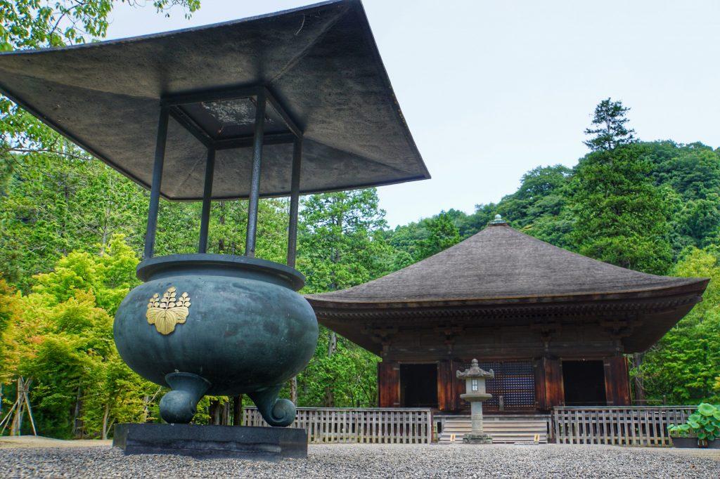 国家级宝物白水阿弥陀堂参观