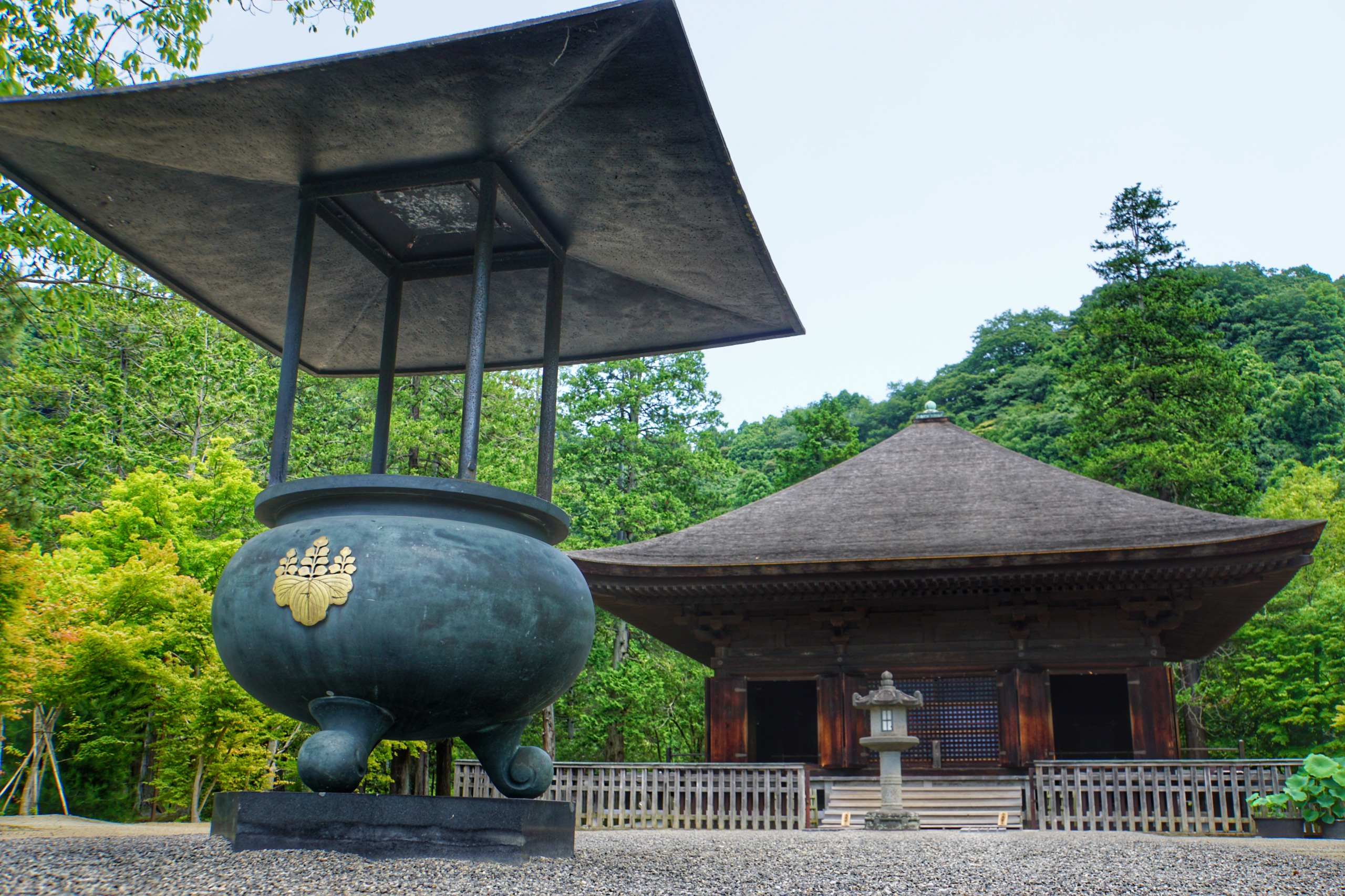 "I visited the national treasure ""Shiramizu Amidadō"""