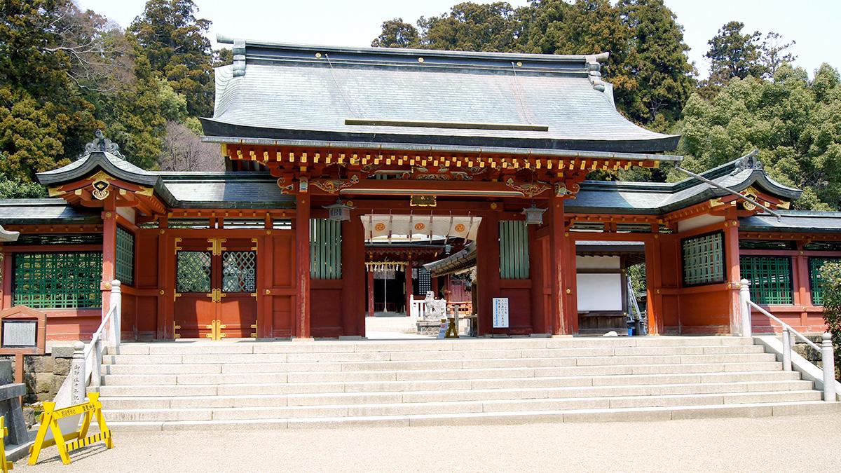 1200년 역사를 지닌 시오가마신사 「塩竈神社」