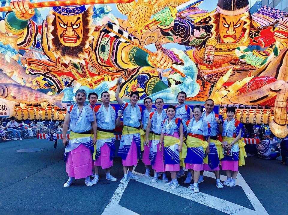 Let's take part in the Nebuta festival!