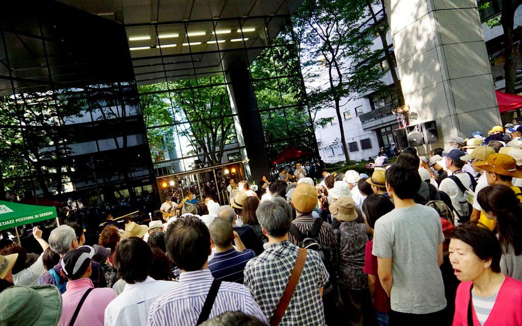 仙台市定禅寺街头爵士音乐节(俗称:爵士节)