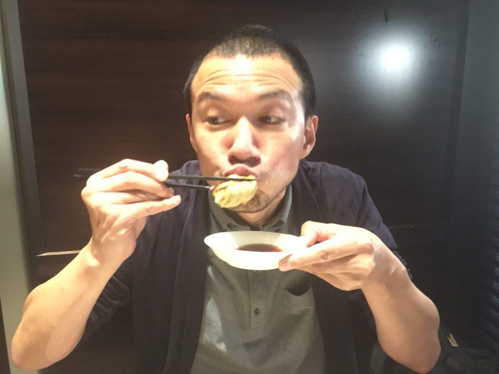 去美食点评网得分3.5分的店—仙台站前SIIILON吃香蕉饺子