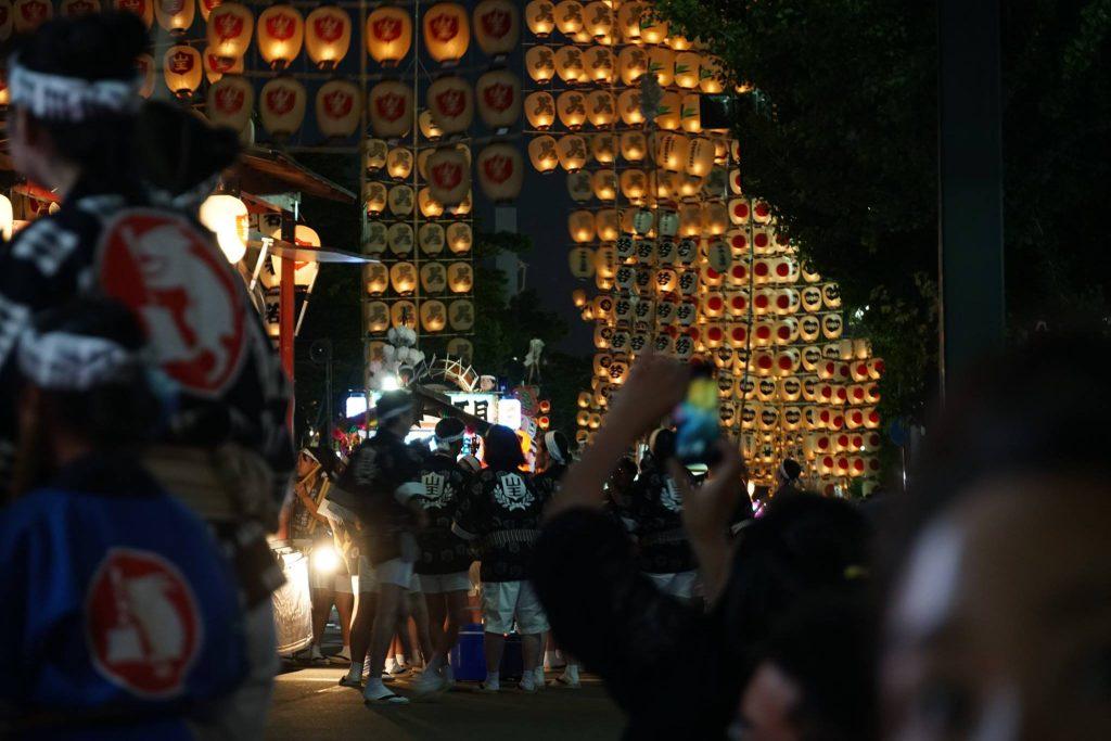 東北三大祭—秋田縣竿燈祭