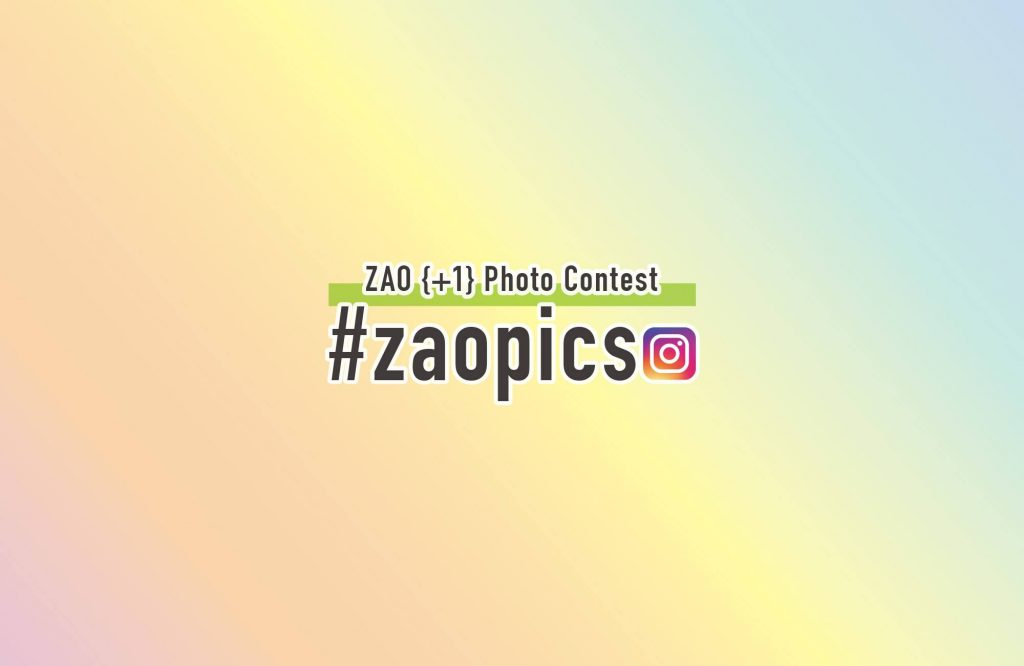 Let's visit more than 2 places in the ZAO area and post on Instagram!