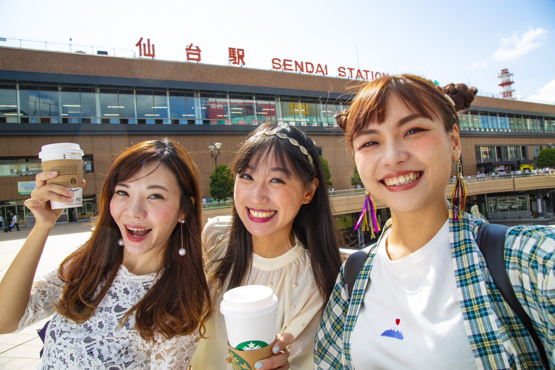 "The sightseeing website for the one-day trip in Sendai called ""Girls Trip in Sendai"" is now available and can be accessed online!"