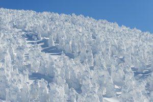 冬の樹氷ロープウェイ(山形)を楽しむ1泊2日モデルコース