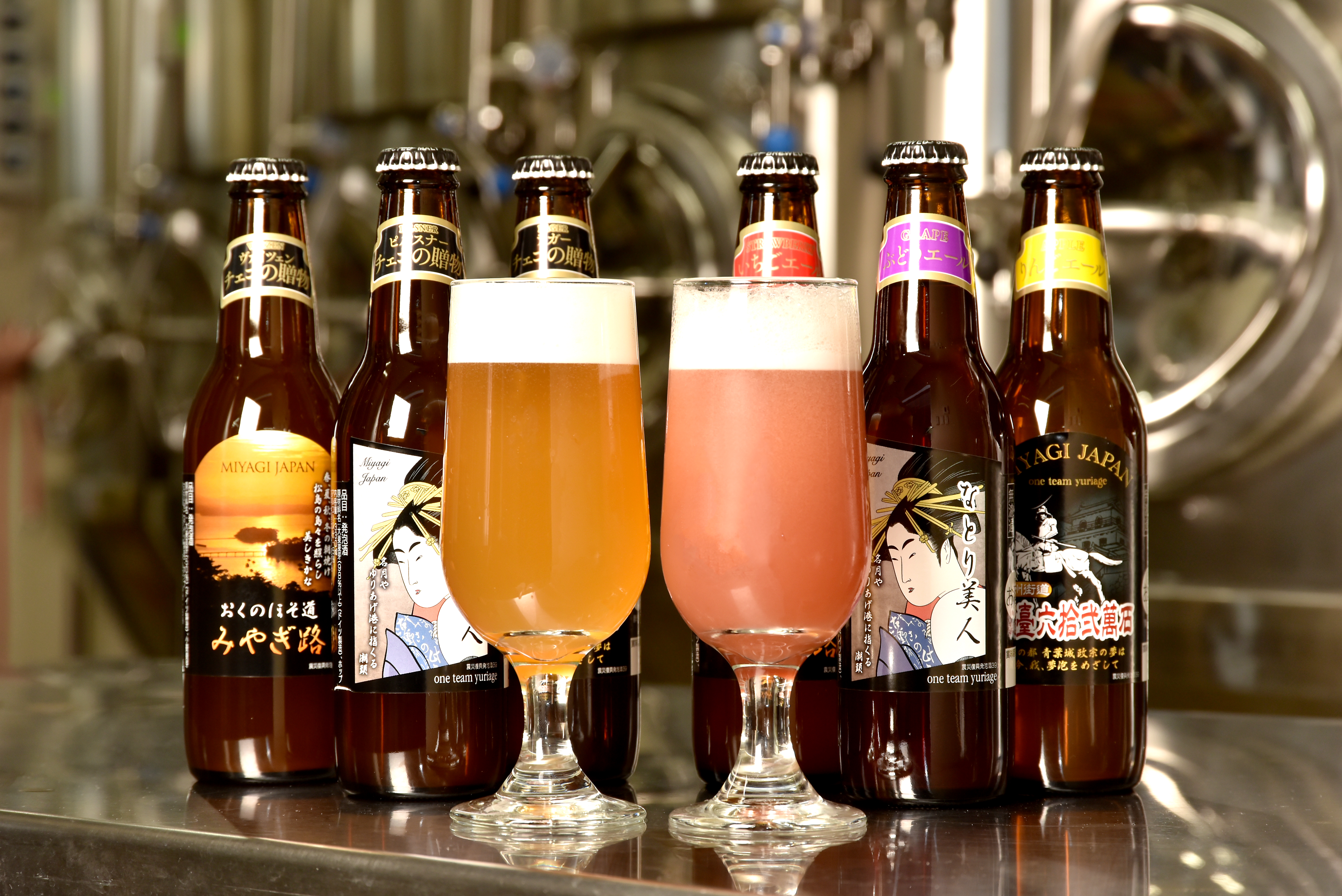 We interviewed Miyagi Yuriage Brewery; Japan's first low-malt beer made from fruits!